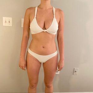 White PilyQ Bikini M